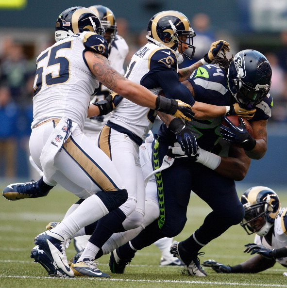 The Rams Are Tough!: I never thought I'd say that. I'm a wounde…