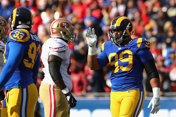 Rams DT Aaron Donald Reports to Mandatory Minicamp Despite No New Deal