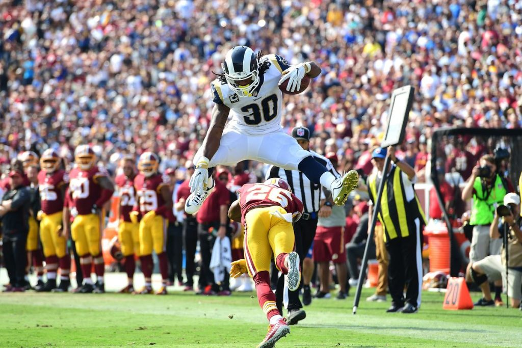 """Video: Nick Wright of Fox Spots Says the Rams are the """"Scariest and the Best"""" in the NFC"""