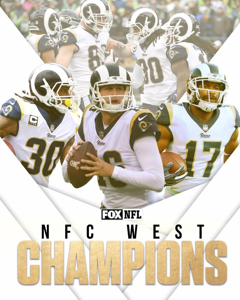 Rams Top the Titans; Win the NFC West