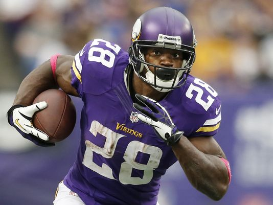 Could RB Adrian Peterson Come to the Rams This Summer?