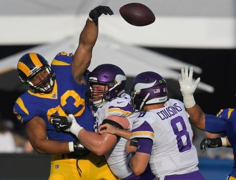 Video: Rams Offense Shines as Goff Throws for 465 Yards and Five TD's in 38-31 Win Over Vikings